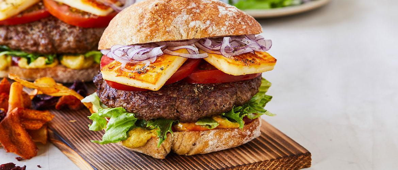 Lav selv burger i Mammen